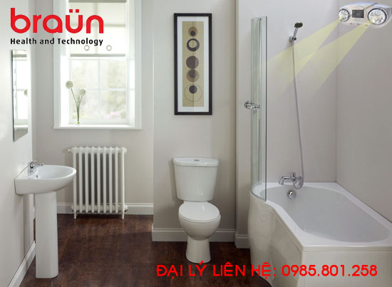 Phân phối đèn sưởi nhà tắm Braun