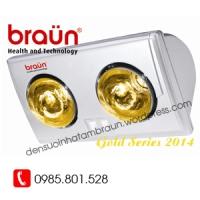 Đèn sưởi 2 bóng vàng Braun Bu02G