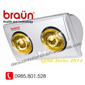 đèn sưởi braun 2 bóng BU02G