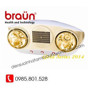 đèn sưởi braun BU02PG