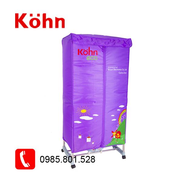 tủ sấy quần áo kohn ks02